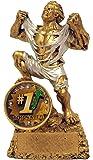 Decade Awards Top Sales Monster Trophy - 6.5 Inch Tall Salesman Beast Award - Salesperson Hulk Trophies - Engraved…