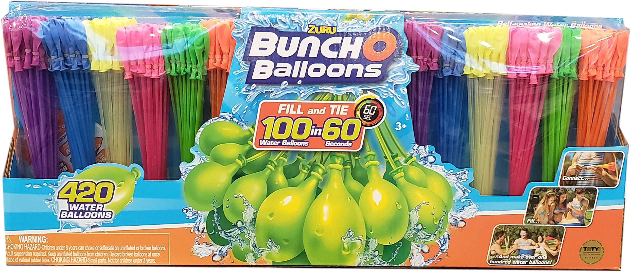 Bunch O Balloons Zuru 420 Instant Self Sealing Water Balloons, Brown/a by Bunch O Balloons (Image #1)