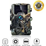 SOVACAM Trail Camera, 16MP HD Photos and 1080P HD Videos Hunting Cameras, Up to 0.2S Trigger Time, 65ft Night Vision,IP 56, Camouflage
