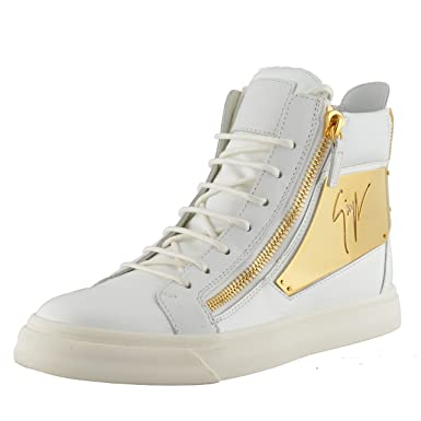 a6007bf8505 Image Unavailable. Image not available for. Color  Giuseppe Zanotti Design  Women s Hi Top Fashion Sneakers Shoes ...