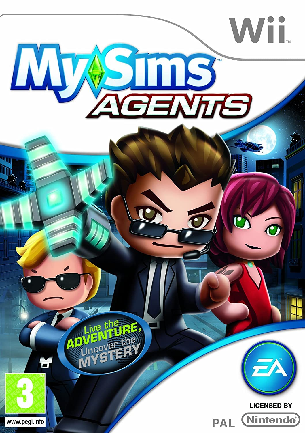 mysims agents nintendo wii amazon co uk pc u0026 video games