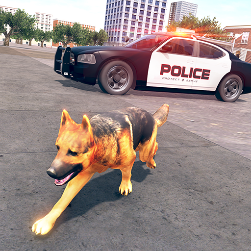 Police Dog Chase Gangster Breakout Crime City : Police Dog Training Survival Mission 3D (Best Dog Games For Android)