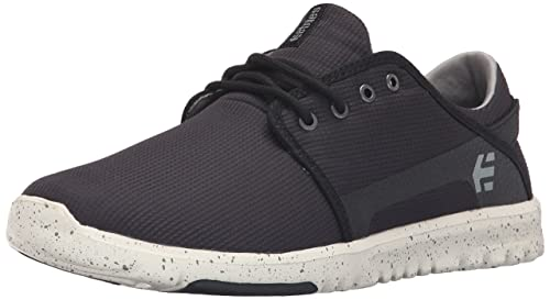 Etnies Men's Scout Skateboarding Shoe, Black/Grey/Grey, ...