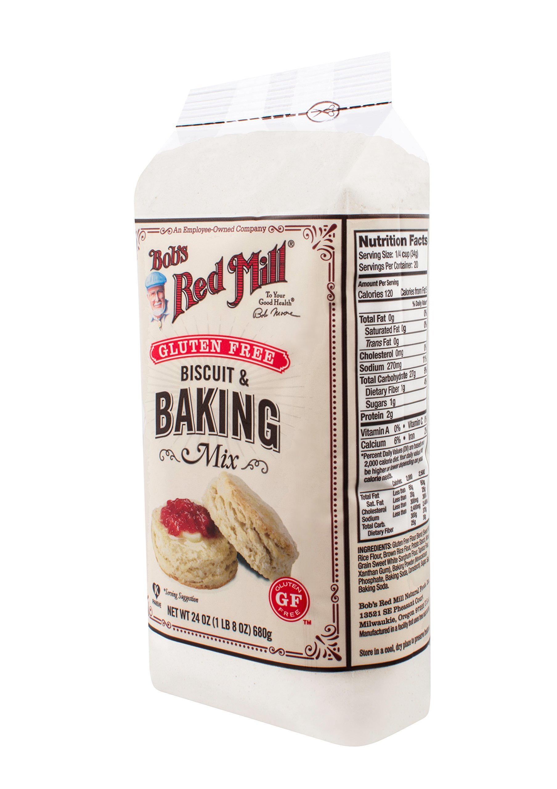 Bob's Red Mill Gluten Free Biscuit & Baking Mix, 24-ounce by Bob's Red Mill (Image #6)