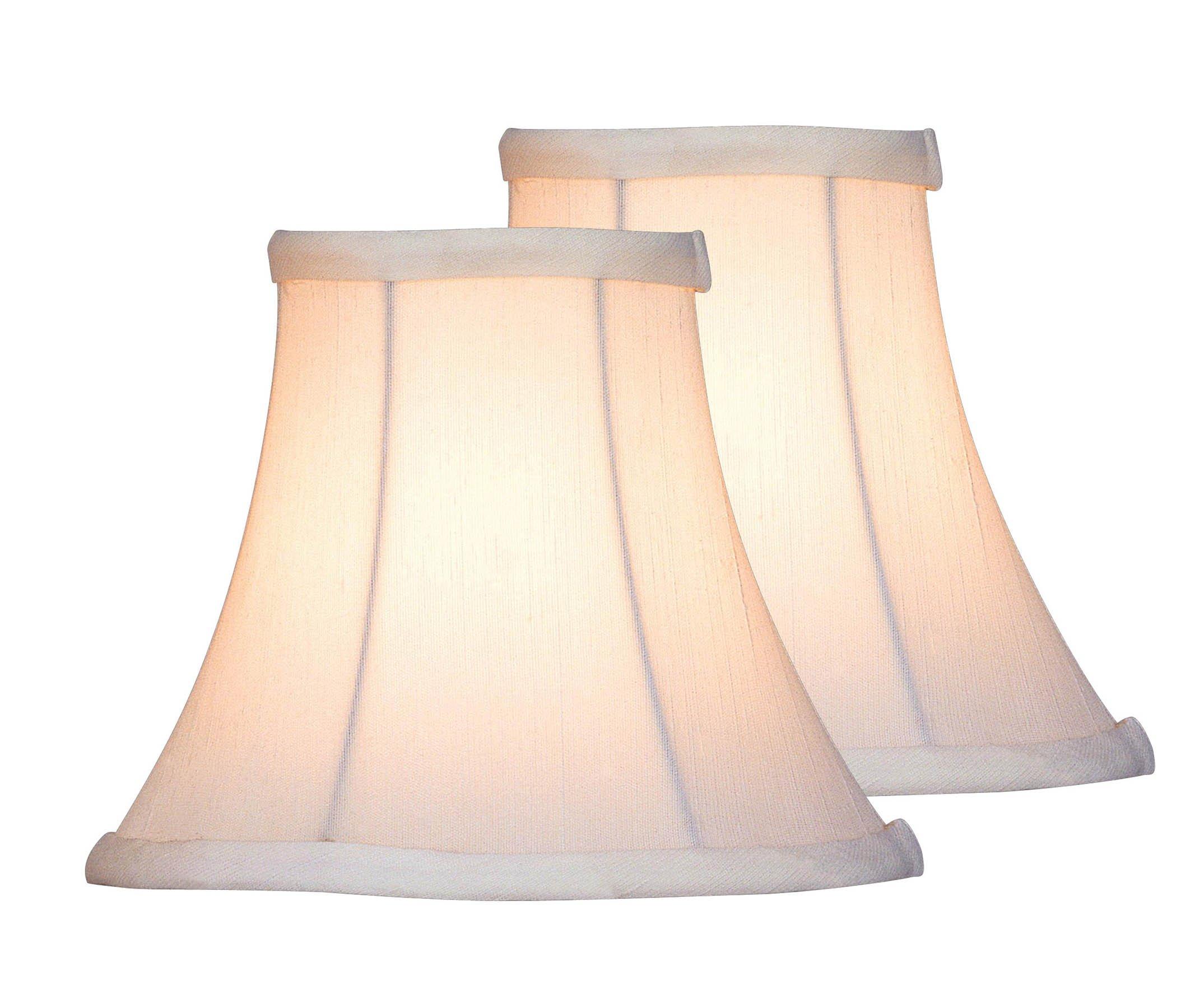 Lite Source CH526-6/2PK Candelabra Shade Decor Lamp by Lite Source