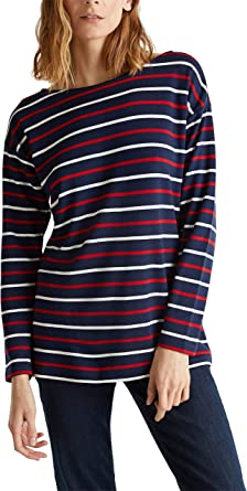 Esprit Camisa Manga Larga para Mujer: Amazon.es: Ropa y accesorios
