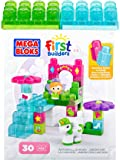 Mega Bloks Toy - First Builders Playset - Little Princess Waterfall Garden - 30 Blocks