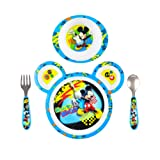 Amazon Price History for:The First Years Disney Baby Mickey Mouse 4-Piece Feeding Set