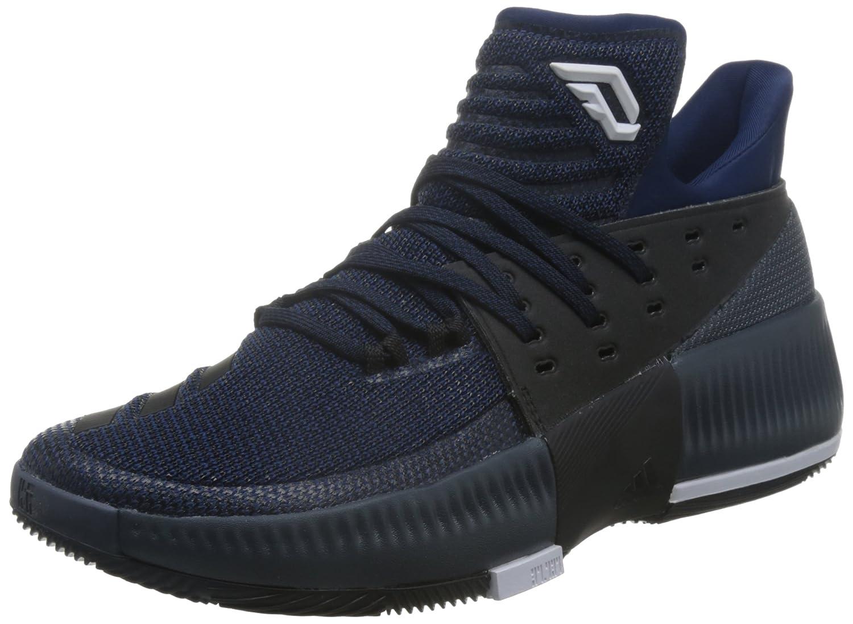 azul adidas D Lillard 3 Hauszapatos de Baloncesto, Hombre