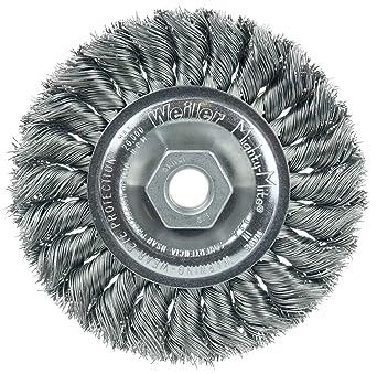Weiler 3 Standard Twist Knot Wheel 4 Pack