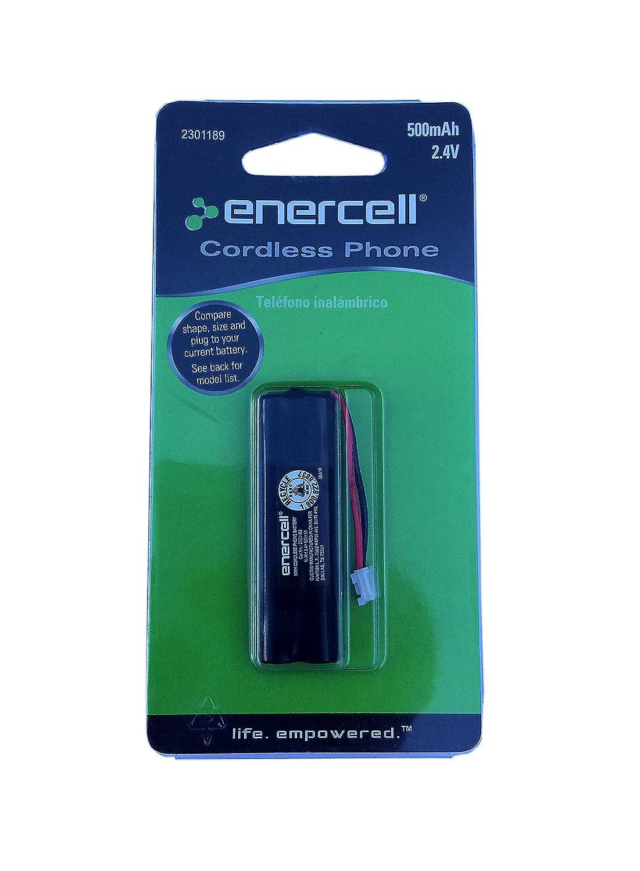 New Enercell Cordless Phone Battery 500mAh 2.4V for Vtech LS6115 LS6125 2301189