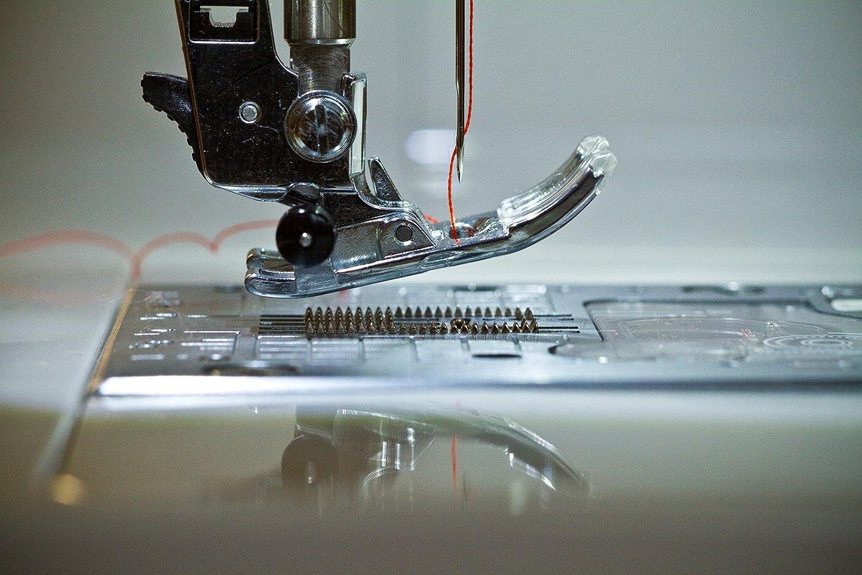 JUKI máquina de Coser electrónica, Metal, Blanco, 44,5 x 22,3 x 29,2 cm: Amazon.es: Hogar