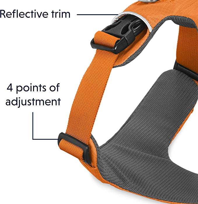 Ruffwear - Front Range Harness, Color Campfire, Talla XXS: Amazon ...