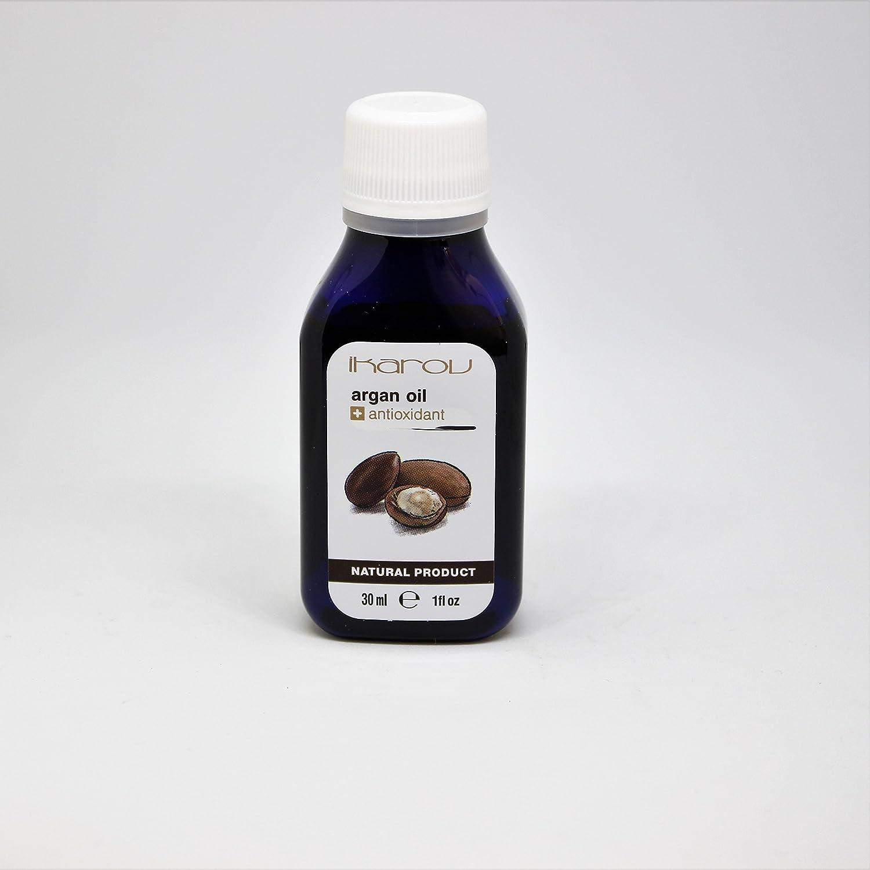 Aceite para tuerca de argán 100% puro con vitamina E + antioxidante, 30 ml Ikarov: Amazon.es: Belleza