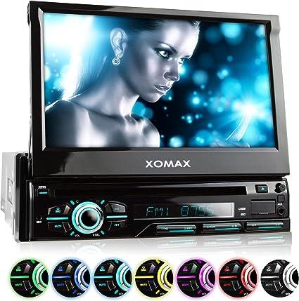 "XOMAX XM-DTSB928 Autoradio con Schermo Touch Screen 7"" / 18 cm"