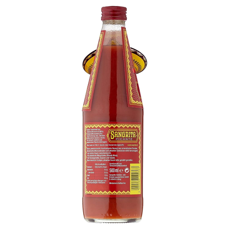 Sangrita Picante - Der mexikanische feurige Drink ohne Alkohol (1 x ...