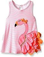Mud Pie Little Girls' Flamingo Dress