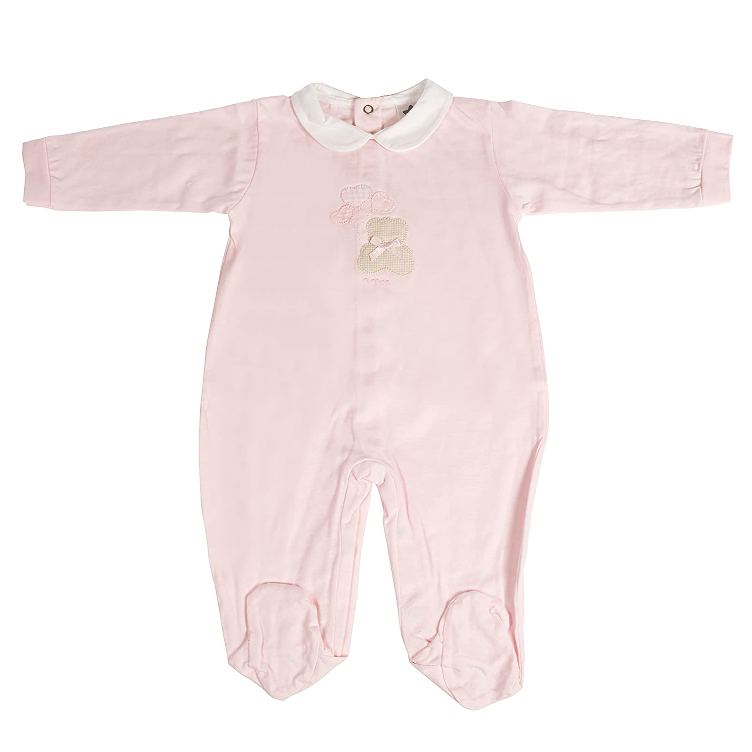Push2Posh Newborn Baby Girl Romper Pajamas Bodysuit One-Piece Outfits