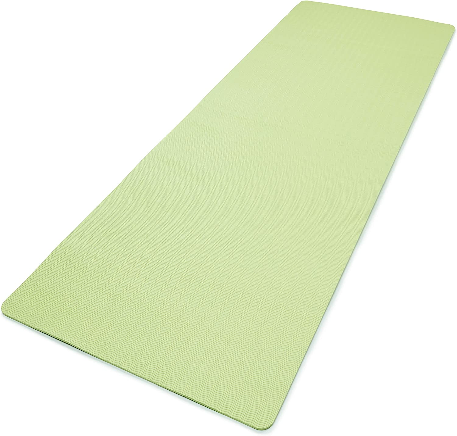 Amazon.com : adidas Yoga Mat- 8mm - Aero Green : Sports ...