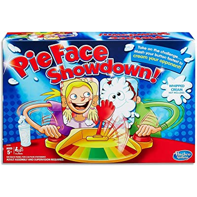 Hasbro Gaming Pie Face Showdown Game: Toys & Games