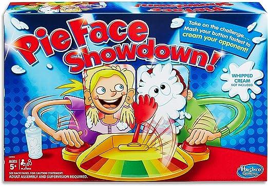 Juego de la Tarta en la Cara (Pie Face Showdown): Amazon.es: Juguetes y juegos