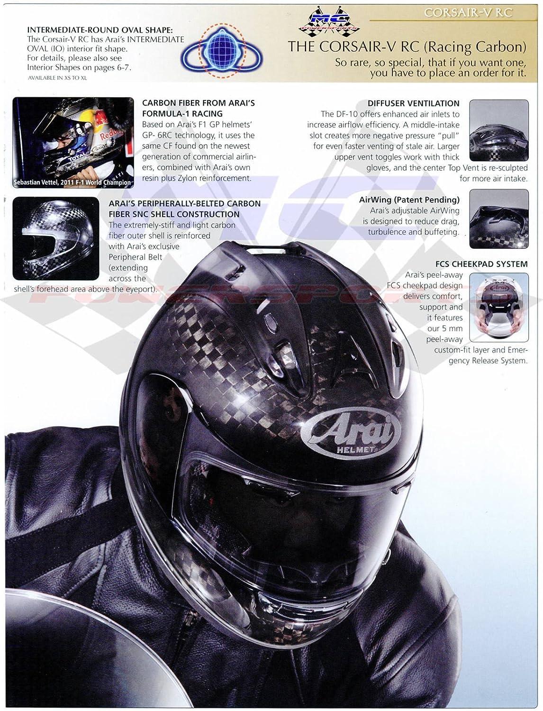 Arai Brow Vent Dark Smoke Shield for Arai XD4 Helmets One Size