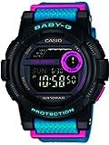 Casio Damen-Digital-Armbanduhr mit Armband aus Kunstharz–bgd-180fb
