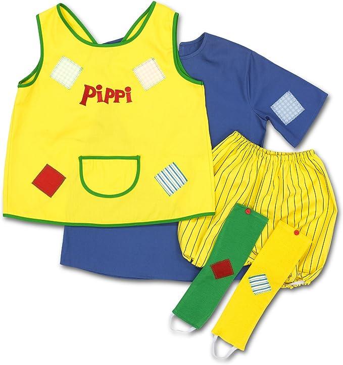 Glow2B Pippi Langstrumpf 44.3600.04 - Disfraz de Pipi Calzaslargas ...
