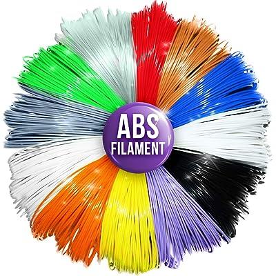 3D Pen Filament Refills - 1.75mm ABS Printer Refill Pack