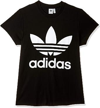 adidas Big Trefoil tee Camiseta, Mujer: Amazon.es: Ropa y accesorios