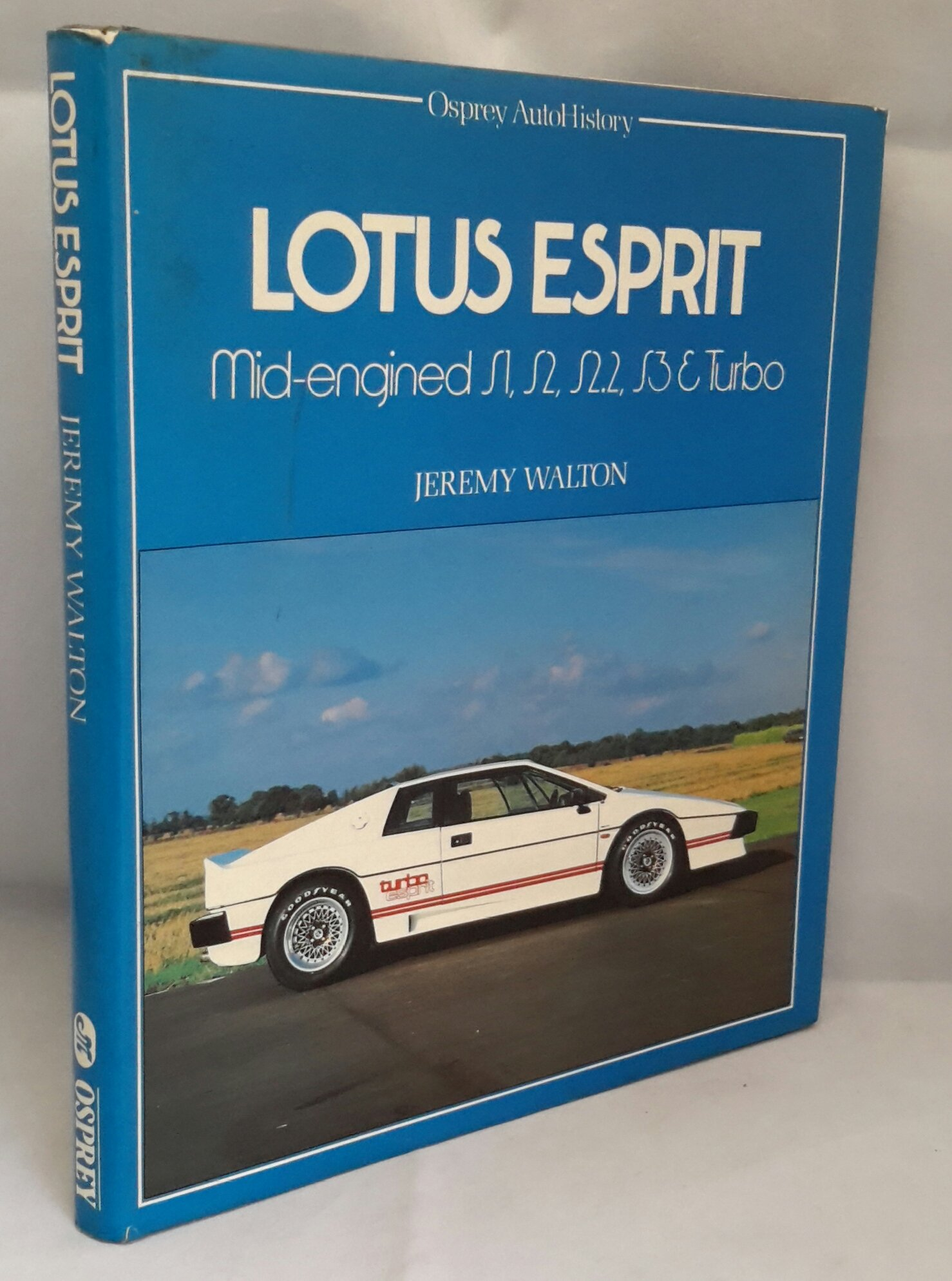 Lotus Esprit (Osprey autoHistory): Amazon.es: Jeremy Walton: Libros en idiomas extranjeros