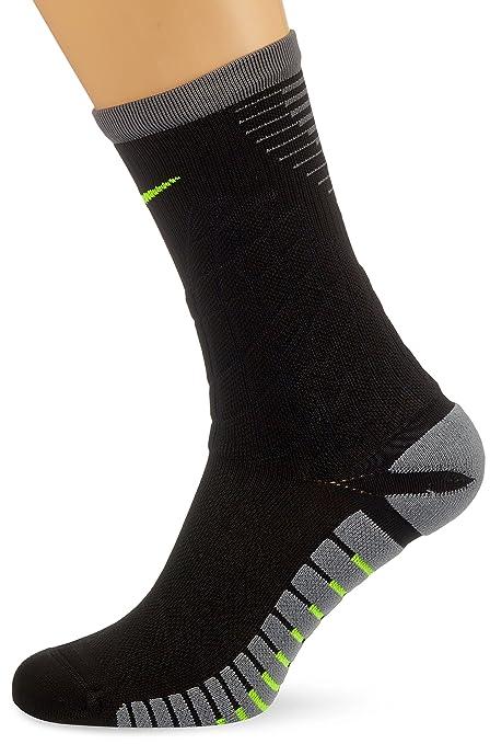 Nike Strike Hypervenom Footbal Calcetines, Hombre, Negro (Black/Cool Grey/Volt
