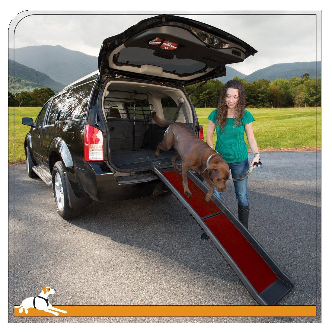 Kurgo Wander Collapsible Dog Ramp, Tri Fold Ramp for Pets