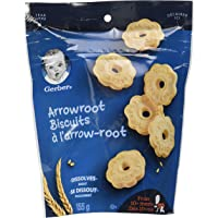 GERBER Arrowroot Biscuits, Baby Snacks 4 x 155 g (Pack of 4)