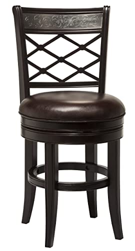 Hillsdale Furniture Spalding Swivel Counter Stool, Espresso