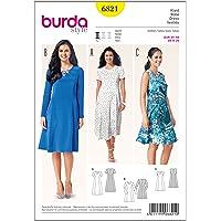 Patrón Burda 6821 Vestido
