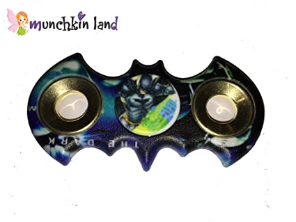 Munchkin Land Batman Fidget Spinner Focus Toy For Killing Time Stress Reducer Hand Spinners Adults