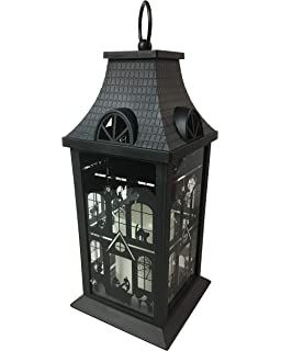 1f57e9841c All Hallows Eve LED Candle Lantern for Halloween Centerpiece Decoration Haunted  House