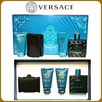 Amazon.com : Versace Eros Cologne 4 Pcs Gift Set : Beauty
