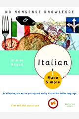 Italian Made Simple: Revised and Updated Paperback