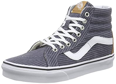 Vans Classic Slip-on, Unisex-Erwachsene Sneakers, Grau (Washed Herringbone Pack/Folkstone Gray), 46 EU