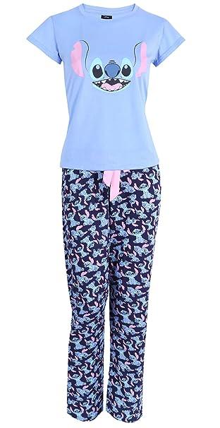 design senza tempo così economico buona vendita Pigiama Blu a Due Pezzi di Stitch Disney L: Amazon.it: Abbigliamento