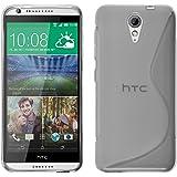 Coque en Silicone pour HTC Desire 620 - S-Style transparent - Cover PhoneNatic Cubierta + films de protection