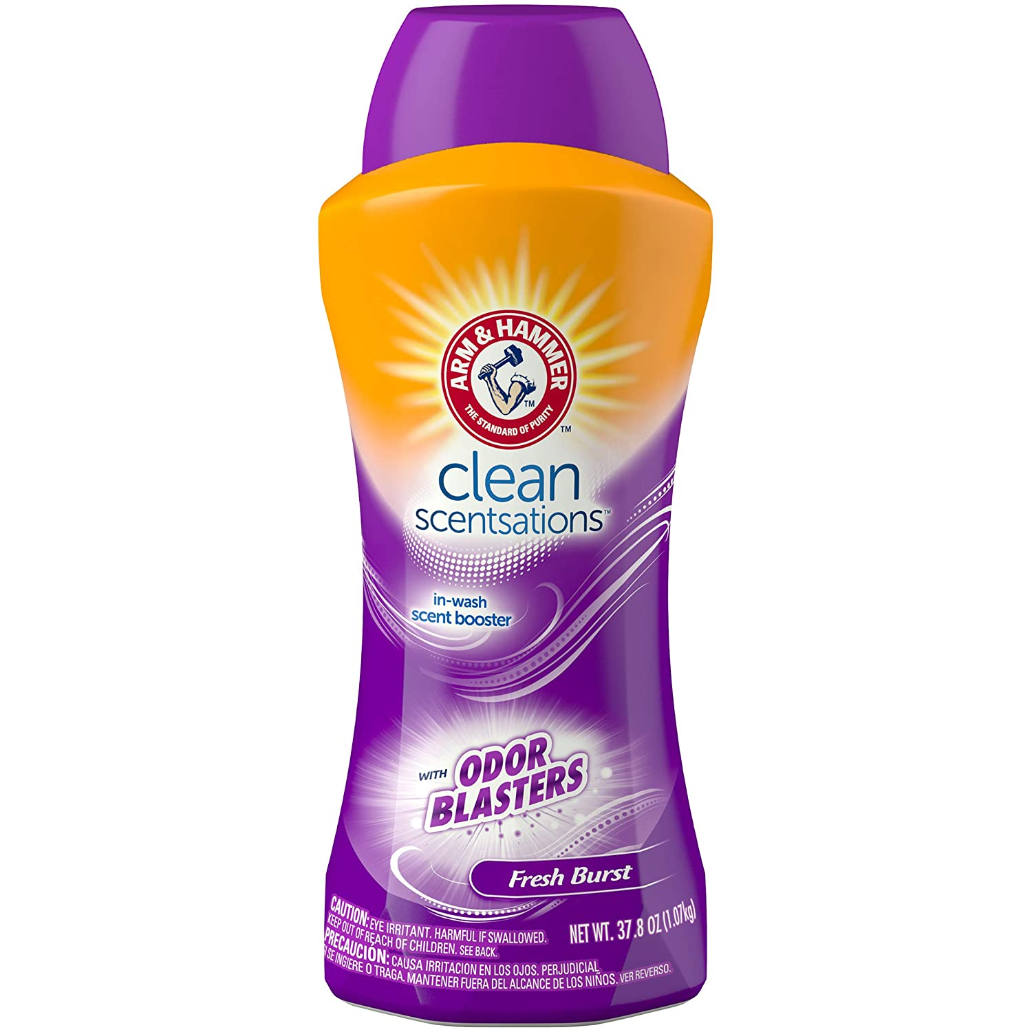 Arm & Hammer Clean Scentsations In-Wash Freshness Booster, Odor Blaster, 37.8 Ounce