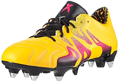 34c329d31 adidas X 15.1 SG Leather Mens Football Boots Soccer Cleats (US 6.5