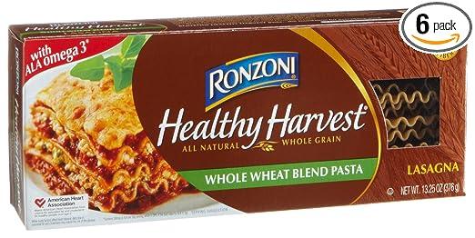 Ronzoni - Juego de 6 cajas de cosecha saludable de mezcla de ...