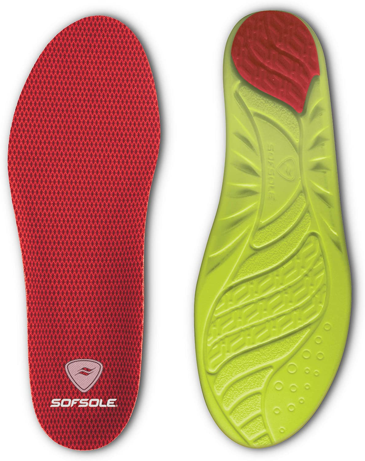 Sof Sole Insoles Women's High Arch Performance Full-Length Foam Shoe Insert: Shoes