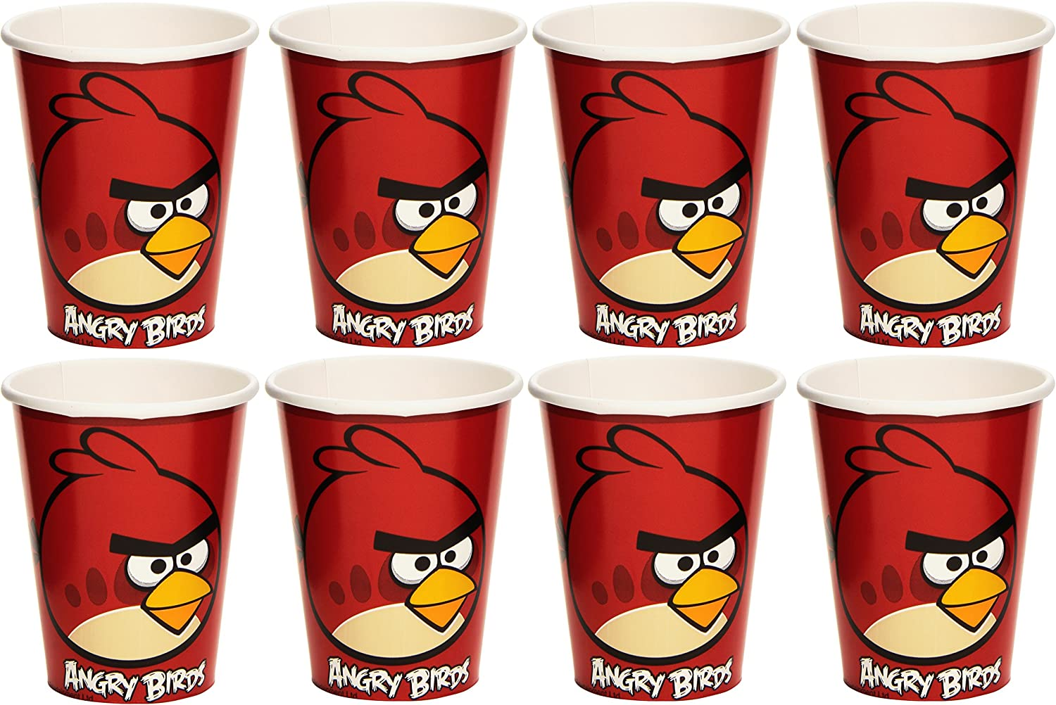 Angry Birds Party Cups 8pk Birthday Party Disposable Tableware