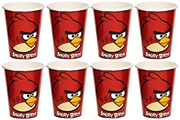 Amscan International - Cubertería para Fiestas Angry Birds (583710): Amazon.es: Juguetes y juegos
