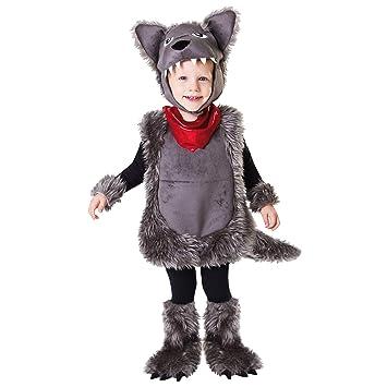 My Other Me Me-203727 Disfraz de pequeño lobo 5-6 años Viving Costumes 203727: Amazon.es: Juguetes y juegos